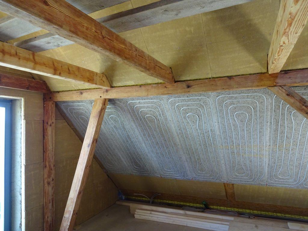 Wandheizung, Deckenheizung, Dachschrägenheizung, WAKA Original, WAKA Thermosystems